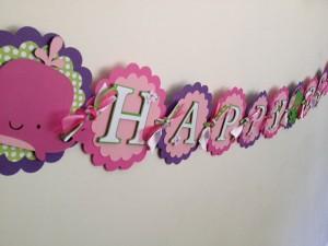 natpisi, dekoracija rođendana, slova, cvetovi