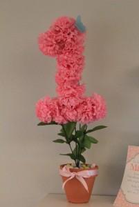 3d broj, papirni cvetovi