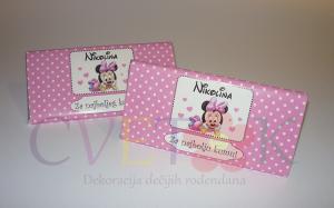 cokolade sa posvetom, cokolade kao dekoracija za decije rodjendane