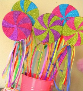 dekorativni stapici lizalica, lollipop dekoracija