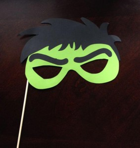 foto hulk, maske za rodjendane