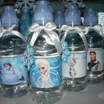 frozen, dekoracija za rodjendane, deciji rodjendani, voda, flasa