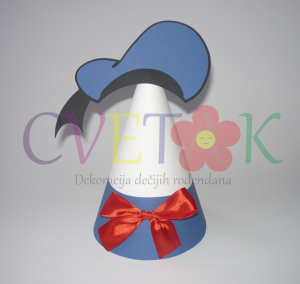 rodjendanska kapa paja patak, dekoracija rodjendana na temu paja patak, donald duck kapa