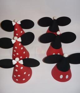 rodjendanska dekoracija, dekoracija, deciji rodjendani, rodjendanke kape, kapice, mini, miki