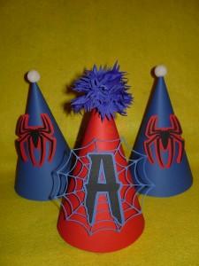 spajdermen dekoracija rodjendana, rodjendanska dekoracija na temu spiderman, deciji rodjendani, spajdermen, spiderman kapa, rodjendanske kape spajdermen