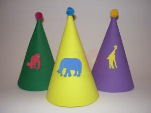 kape za rodjendan sa zivotinjama, rodjendanske kape na temu zoo