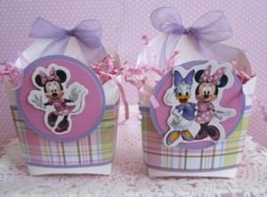 poklon kutija mini maus, dekoracija rodjendana mini maus kutije