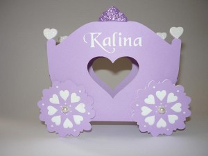 kutija kocija ne temu princeza sofija, poklon kutije za rodjendan, kocija sofia the first, dekoracija princeza za slatki sto