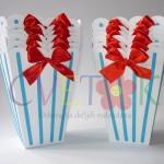 kutije za kokice, fiseci za kokice za slatki sto, dekorativne kutije za rodjendane, kutije na temu voz tomas