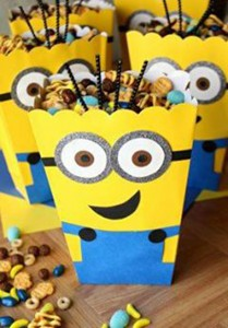 kutija za kokice, slatki sto, Minions