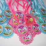dekoracija za rodjendane moj mali poni, medaljoni za decu moj mali poni