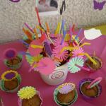 slamcice sa cvetovima, cvetne slamke za rodjendane