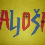 spiderman, spajdermen, 3d slova, slova od stirodura, 3D ime