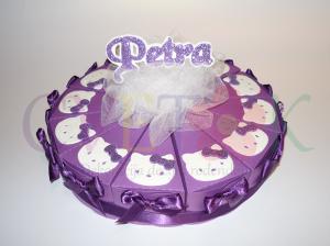 papirne torte za rodjendane, hello kitty kutije za slatkise