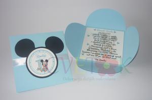 pozivnice za rodjendan beba miki, miki maus pozivnice