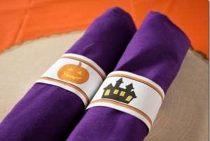 salvete, halloween, dekoracija