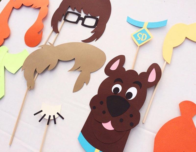 rekviziti za rođendan Maske i foto rekviziti | Dekoracija decijih rodjendana rekviziti za rođendan