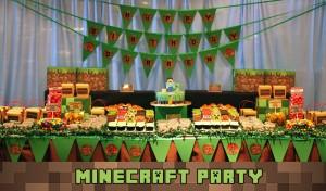 minecraft, igre, decaci, rodjendan, slavljenik, slatki sto