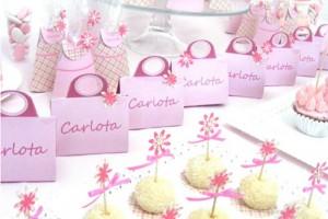 kutije za slatkise, pokloni za rodjendan, torbice sa cvecem