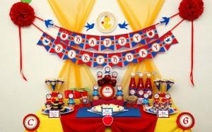 snezana i sedam patuljaka, rodjendan, proslava rodjendana, dekoracija stola
