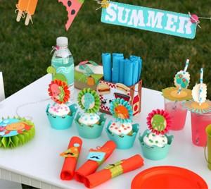 slatki sto, dekoracija rodjendana