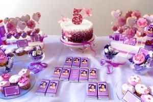 rodjendani za devojcice, dekoracija sa leptiricima
