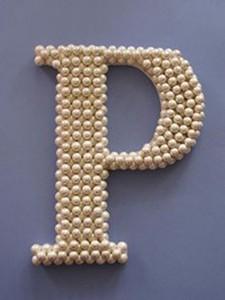 3d slovo, biserne perle
