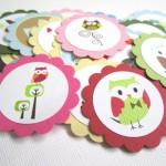 sova, tag, tagovi, dekoracija rodjendana, deciji rodjendani