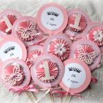 cvetici, dekoracija rodjendana, toperi za kapkejk