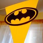 rodjendanski natpisi, zastavice, ukrasavanje, deciji rodjendani, rodjendanska dekoracija, batman