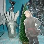 dekoracija za rodjendan, frozen kristof