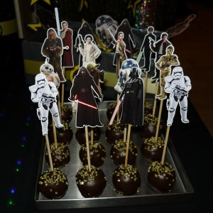 pop cake star wars, popsi rodjendanska dekoracija