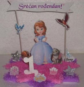 rodjendanska dekoracija princeza sofia