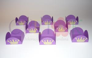 korpice za popse princeza sofija, cake pops korpice sa krunom