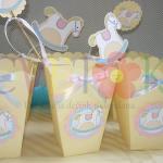 kutije za kokice kao rodjendanska dekoracija, dekorativne kutije za rodjendane na temu konjic