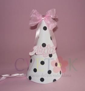 rodjendanske kape za deovjcice, kapa balerina, kape sa imenom