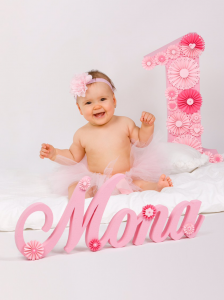 3D ime kao rodjendanska dekoracija, ime i broj od stiropora za deciji rodjendan