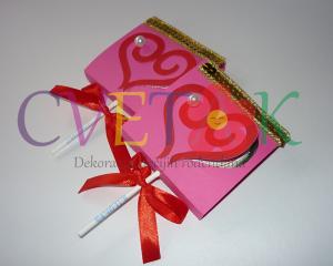 lizalice sa otvorenim srcem, poklon za Dan zaljubljenih, dekoracija slatkog stola srce