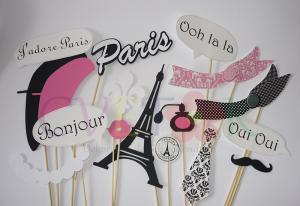 rekviziti za slikanje pariz, foto rekviziti za proslave pariz