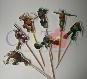 stapici za popse nindza kornjace, toperi za mafine nindza kornjace