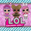 lol dekoracija, lol lutkice, lol rođendan,lol slatki sto